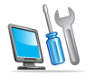 desk top laptop repairs icon